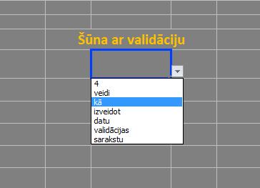 validacija