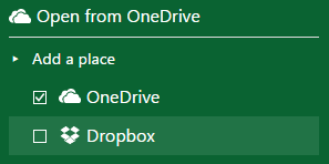 Excel-Online-OneDrive-Dropbox