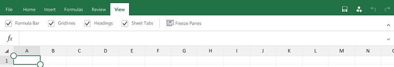 Excel-plansetem-View-tab