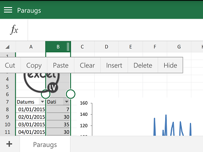 Excel-Android-pārvietot-kolonnu